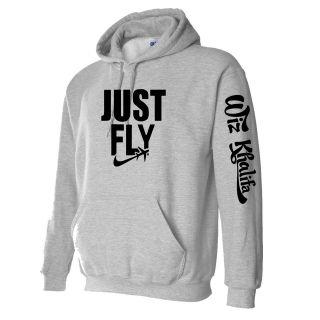 JUST FLY Wiz Khalifa Hoodie Taylor gang wiz khalifa fan Hoodie S 5XL