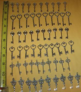 BIG OLD VINTAGE SKELETON KEYS OLD ANTIQUE KEY