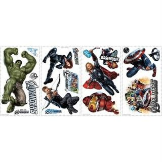 17 Big Removable Vinyl Wall Decals Kids Room Decor Stickers MARVEL