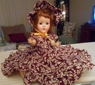 American Character Sweet Sue Walker Doll from the 50s w/Original