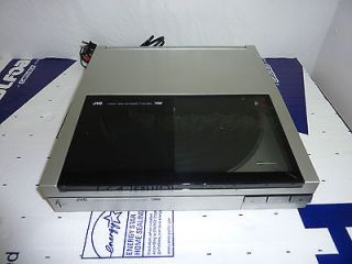 Rare JVC L E600 Linear Tracking Turntable, Fully Automatic, works well