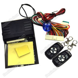 Car Remote Central Lock Locking Keyless Entry System with Controllers