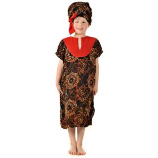 Girls Kids Childrens African Lady Multicultural Educational Fancy