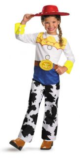Girls Toy Story Jessie Halloween Costume Kids Dress Up 3T 4T S M