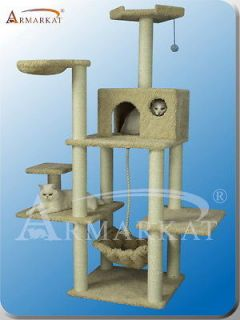 2012 New Style~Armarkat cat tree furniture condo scratching post house