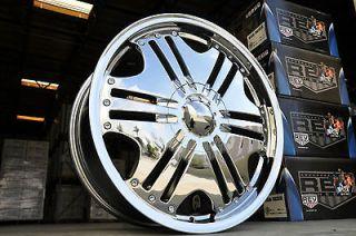 20 Chrome ALT Wheels Chevrolet GMC Sierra Silverado Tahoe Yukon