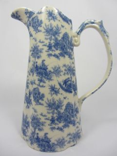 LORD NELSON WARE CHINTZ EDWARDIAN JUG 4.5 TOILLE DESIGN