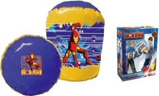 KIDS IRON MAN INFLATABLE TOY BOXING BOP GLOVES