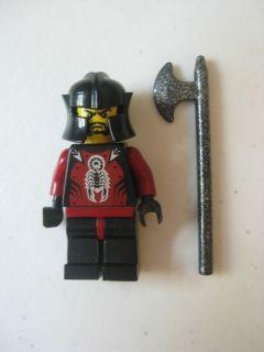 LEGO Shadow Knight Minifigure CASTLE Knights Kingdom II 8778 8780 8781