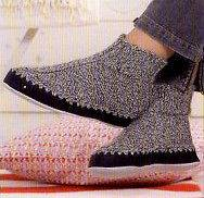Regia Leather Soles For Hand Knitted Slipper Socks   Machine Washable