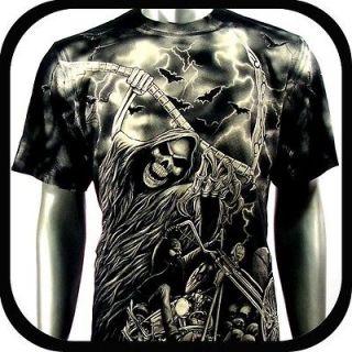 Rock Eagle T Shirt Limited Edition Biker Punk E40 Sz L Graffiti Indie