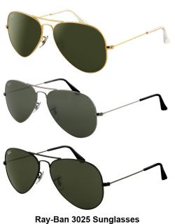 Ray Ban Aviator RB 3025 Large Metal Sunglasses RB3025 58mm 4 Colors