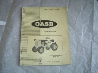 CASE 120 lawn and garden tractor tractors parts catalog manual book