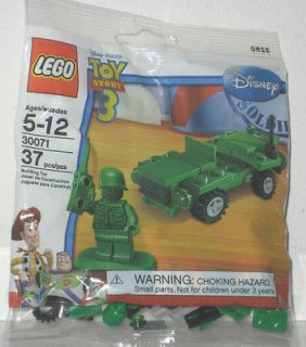 LEGO DISNEY TOY STORY 3 MILITARY SOLDIER & VEHICLE