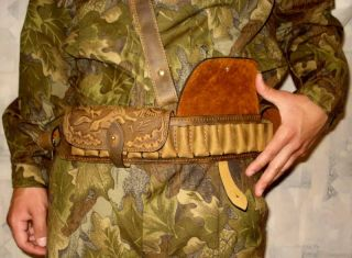 New Luxury Leather Bandolier,Ammunition Cartridge belt,German