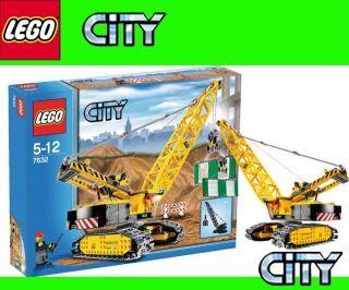 lego crawler crane in LEGO