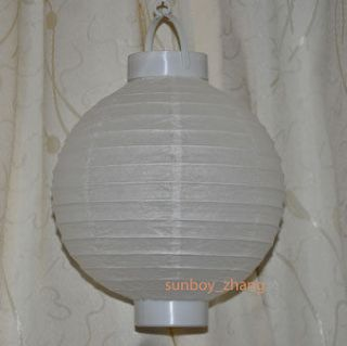 LED Battery Operated Paper Lantern wedding Xmas party Home Decorations