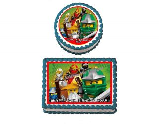 NINJAGO LEGO the first Birthday Party Cake Topper Cupcake Decoration