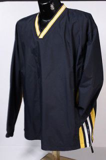 NWT Holloway Pullover Jacket Mens Large Maize & Navy Blue Water