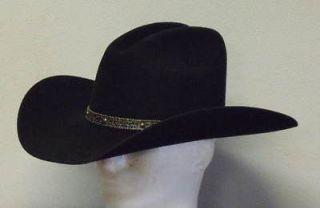 RESISTOL TATTOOS JASON ALDEAN 3XXX WOOL COWBOY WESTERN HAT