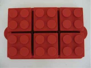 LEGO SILICONE BRICK BIRTHDAY PARTY CAKE PAN MOLD