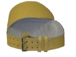 Newly listed Ultra Soft Leather WEIGHT LIFTING BELT Exercise   XXL