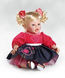 Real Life Baby Doll, Baby Ava, 20 Caressalyn Vinyl by Paradise