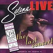 Live The Last Concert [Remaster] [ECD] by Selena (CD, Sep 2002, EMI