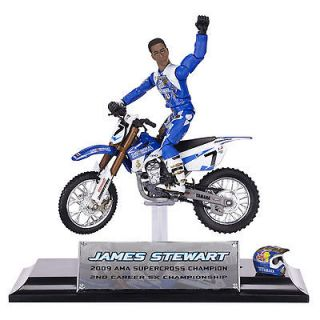 James Stewart MXS Collector Series Dirt Bike Toy