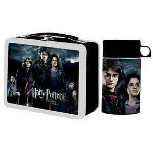 Harry Potter And The Goblet Of Fire Metal Tin Lunch Box NEW Carrier