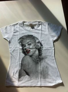 Fruit of the Loom lady fit Marilyn Monroe T shirt size S