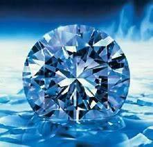 blue diamond in Diamonds (Natural)