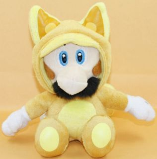 FOX KITSUNE LUIGI 7 SUPER MARIO BROS PLUSH DOLL TOY