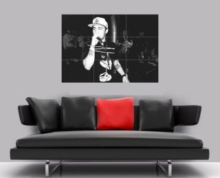 MAC MILLER BORDERLESS MOSAIC TILE WALL POSTER 35 x 25 HIP HOP RAP