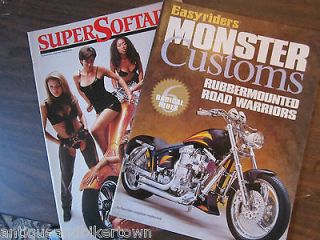 Easyriders Magazines Special Editions of SOFTAILS and CUSTOMS LOT OF