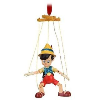 Pinocchio Puppet Marionette Christmas Ornament Figurine Disney Store
