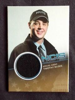 NCIS COSTUME SWATCH CARDS / SEAN MURRAY AS TIMOTHY MCGEE CC5