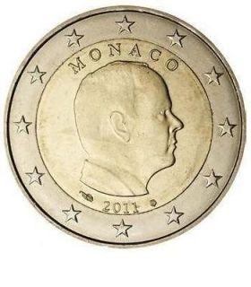 monaco euro coins in Europe