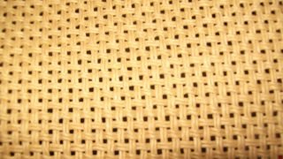 MARSHALL CANE,BROWN BASKET WEAVE,OR BISCUIT GRILL CLOTH.