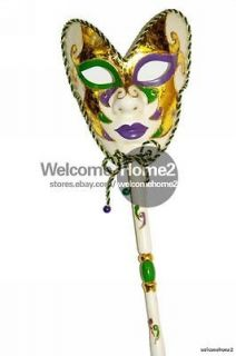 mardi gras mask in Home & Garden