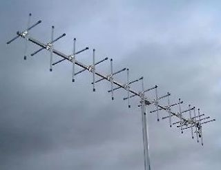 70cm 13 ELEMENT CROSSED YAGI ANTENNA 430 440MHz