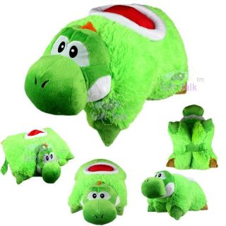 Mario Bros Yoshi Transforming Pet Pillow Car Sleep Bed Cushion Plush