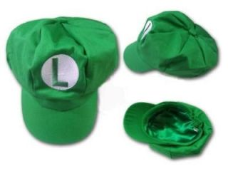 New Super Mario Bros Cosplay Hat Luigi Cap Adult MZL