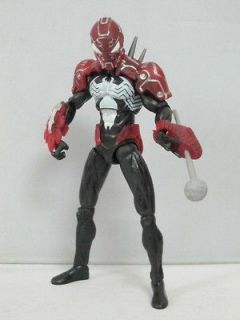 black spiderman action figure in Comic Book Heroes