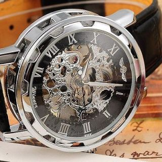 mens skeleton watches in Jewelry & Watches