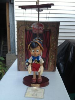 Limited Edition Disney Pinocchio Marionette, Real Wood, No. 224 of 500