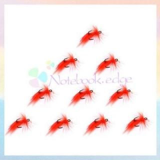 Fishing Treble Hooks Baits Fish Tackle Fishhook Red Bucktails Lures