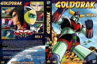 Goldorak Box 1 UFO Robot Grendizer 5DVD episodes 1 26 édition