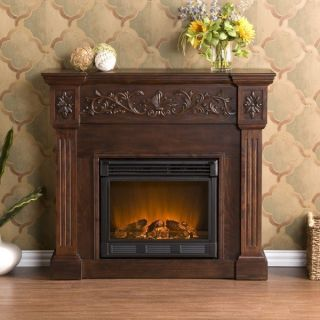 electric fireplace mantle in Fireplaces