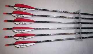 Easton ST Axis Full Metal Jacket Arrows 340 Carbon/Alum w/Quikspin